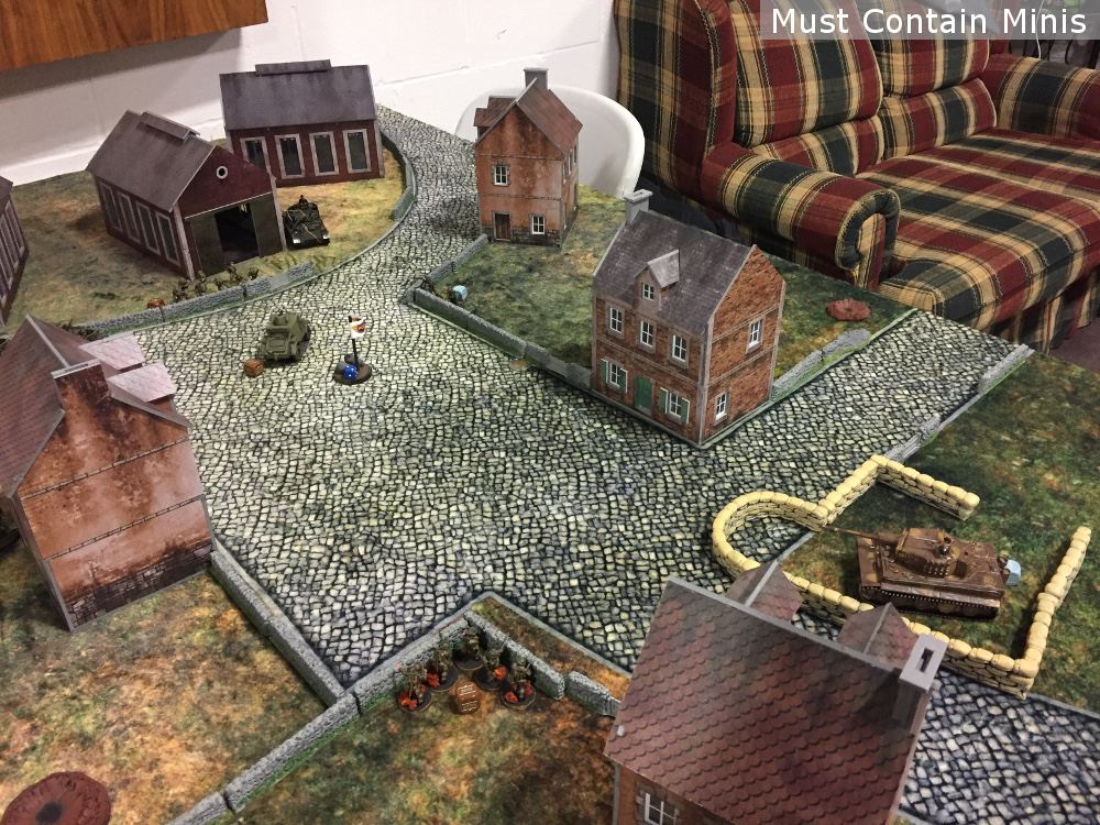 Bolt Action WW2 Battle Report (AAR)