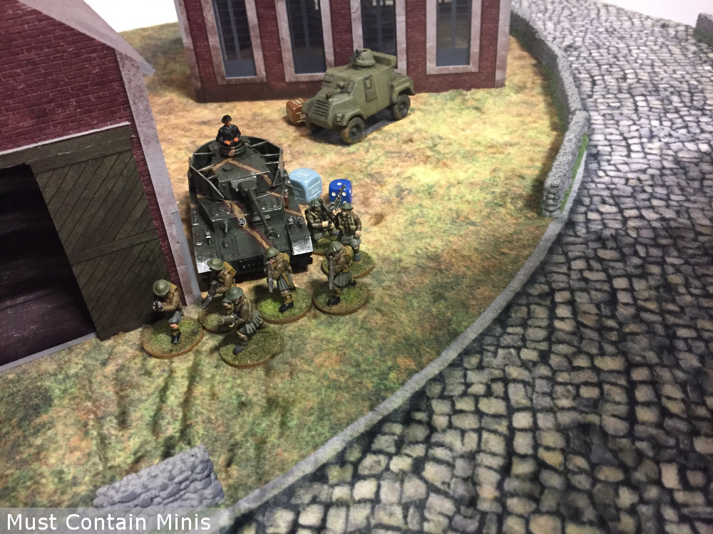 Infantry Assault a vehicle in Bolt Action