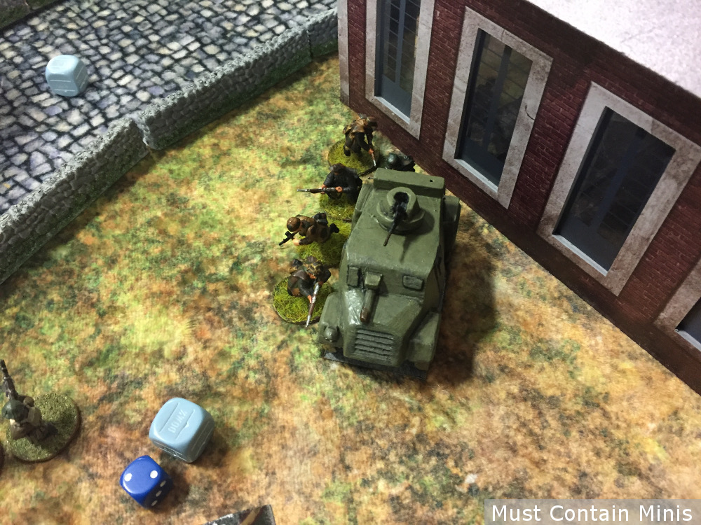 Infantry vs Armoured Car Bolt Action