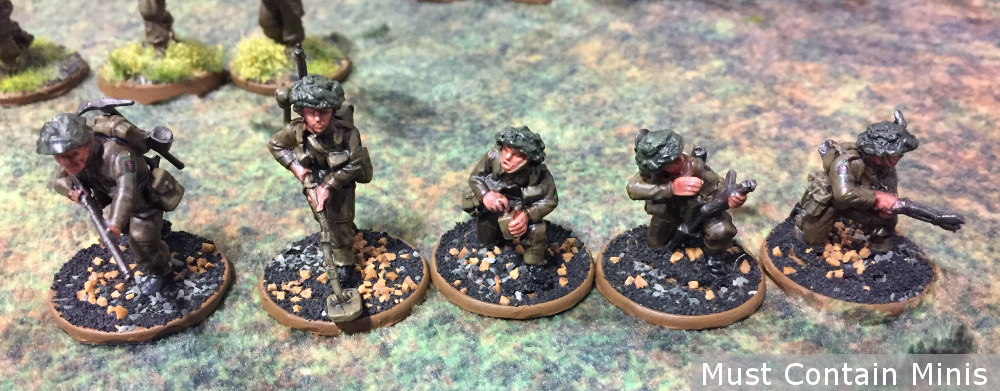 British Engineers 28mm Bolt Action WW2 Miniatures