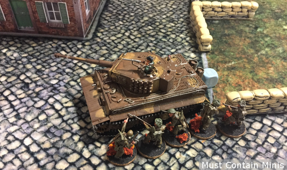 Infantry vs Tiger Tank Bolt Action
