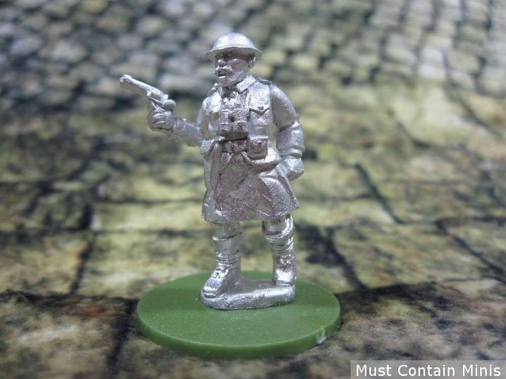 British Commander for Bolt Action by Pulp Figures