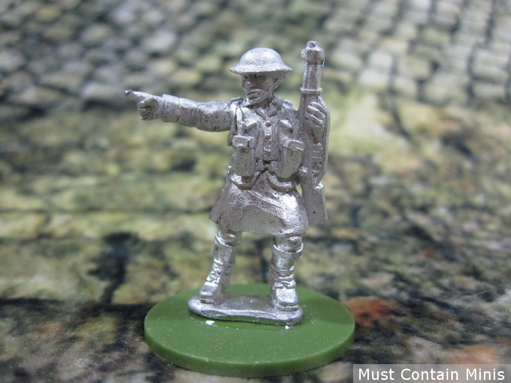 British Commando solider in a kilt for Bolt Action and other 28mm WW2 Wargames