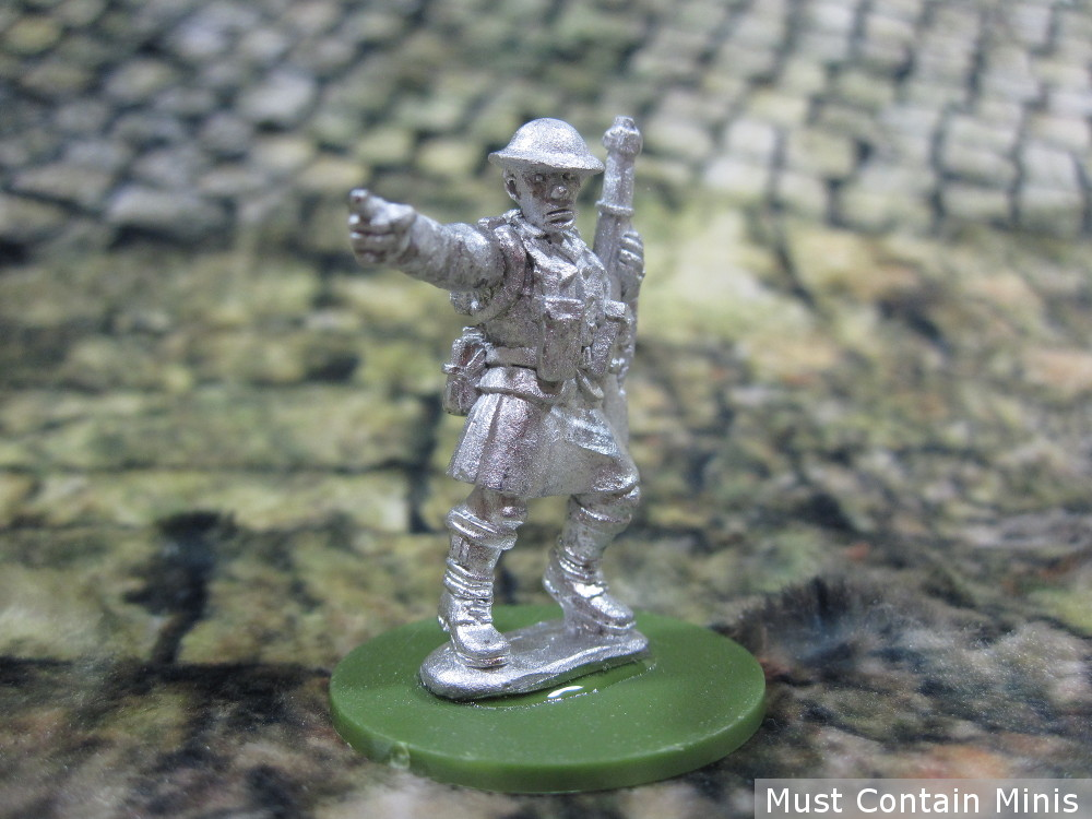 Bolt Action Lieutenant in a Kilt