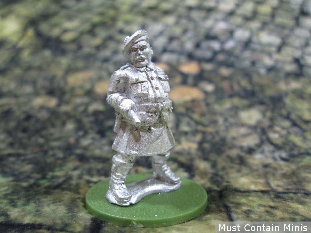 British Commander in a Kilt (WW2 28mm Miniature)