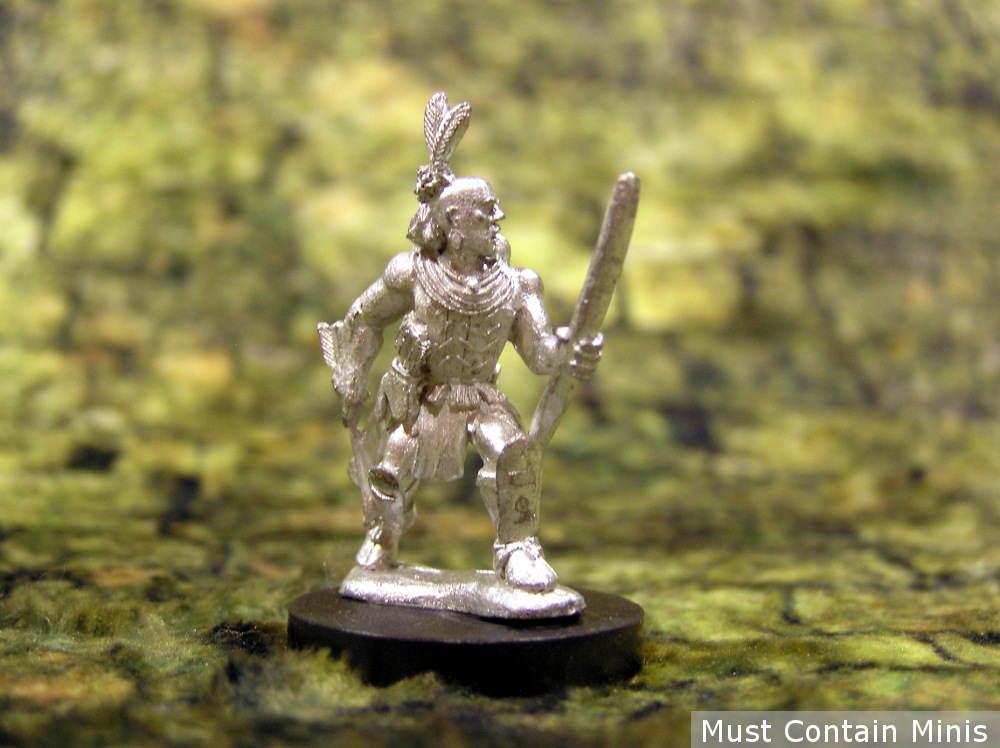 Native American Miniatures for wargaming