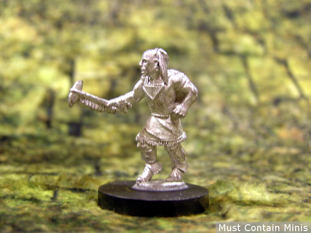 Huron Warrior Miniatures