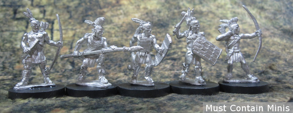 An Iroquois warband together for Frostgrave: Ghost Archipelago, Blood & Plunder and Flint and Feather