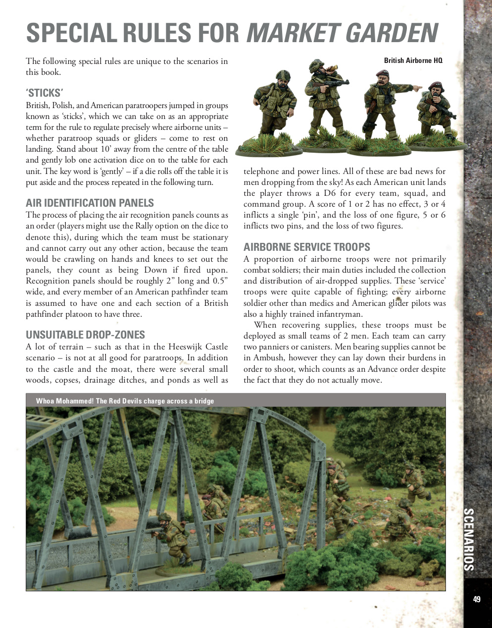 Sample Bolt Action Market Garden Page