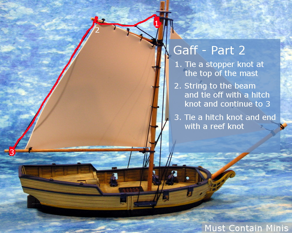 Tutorial Rigging a Firelock Games Sloop for Blood and Plunder