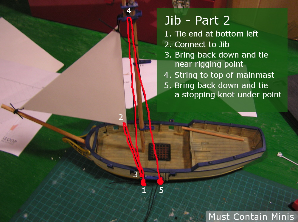 Rigging a Blood and Plunder Sloop