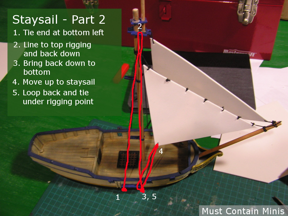 Rigging a Blood & Plunder Sloop Tutorial