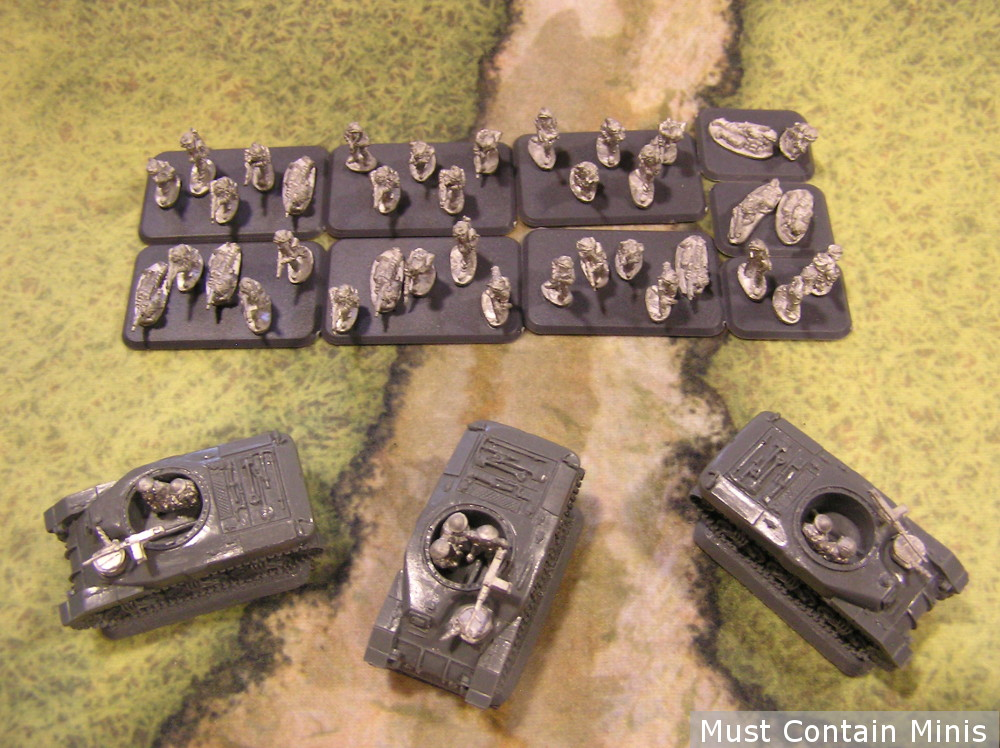 British / Canadian Rifle Platoon - Late War Flames of War