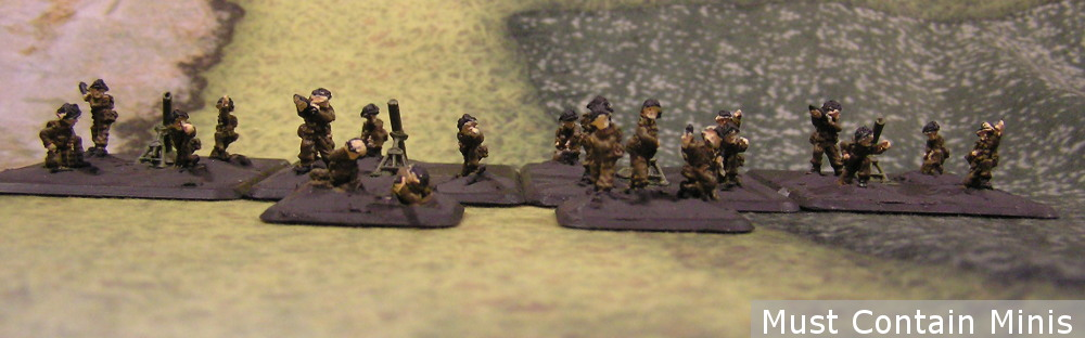 Heavy Mortar Platoon - FOW British