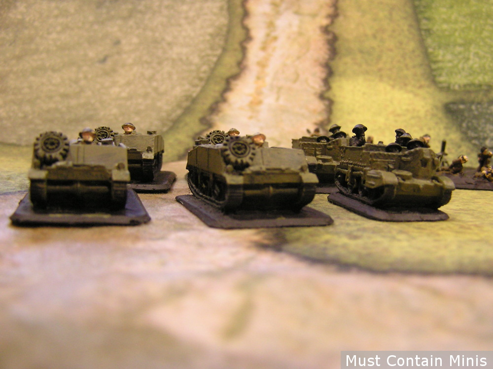 15mm Loyd Carriers Flames of War