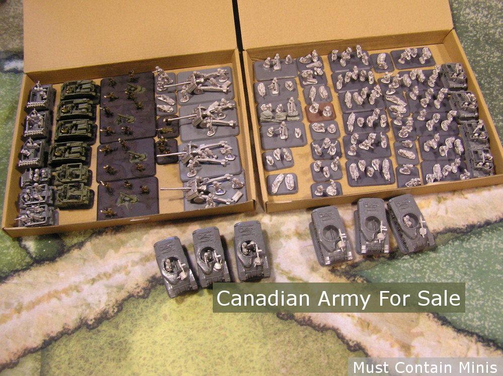 Flames of War Army for Sale