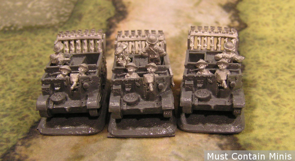Flames of War PIAT Launcher Battery Carrier