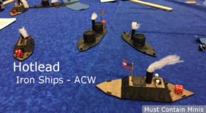 American Civil War Iron Ships Miniatures Game - Naval Combat