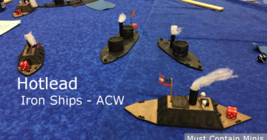 American Civil War Iron Ships Miniatures Game - Naval Combat