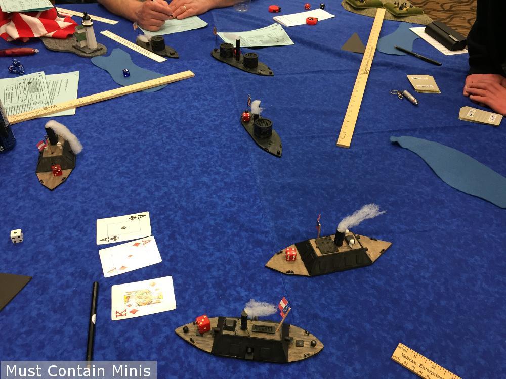 ACW Naval Ship Combat