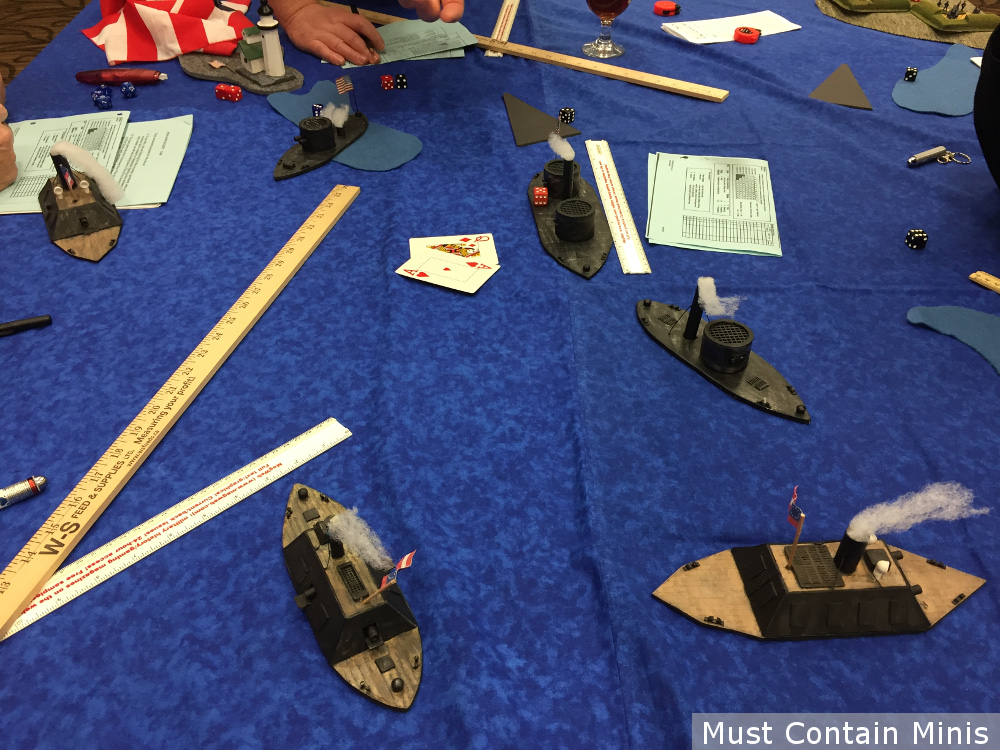 ACW 15mm Homebrew Naval Combat Miniatures Game