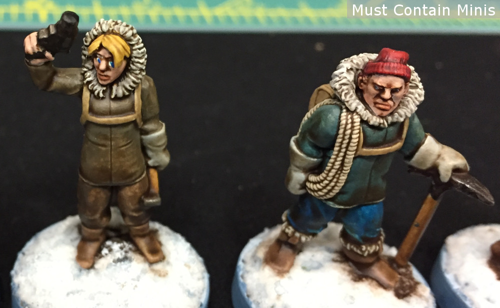 28mm Winter Adventurer Miniatures