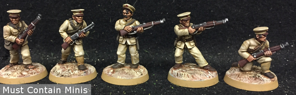 28mm WW2 Sailors