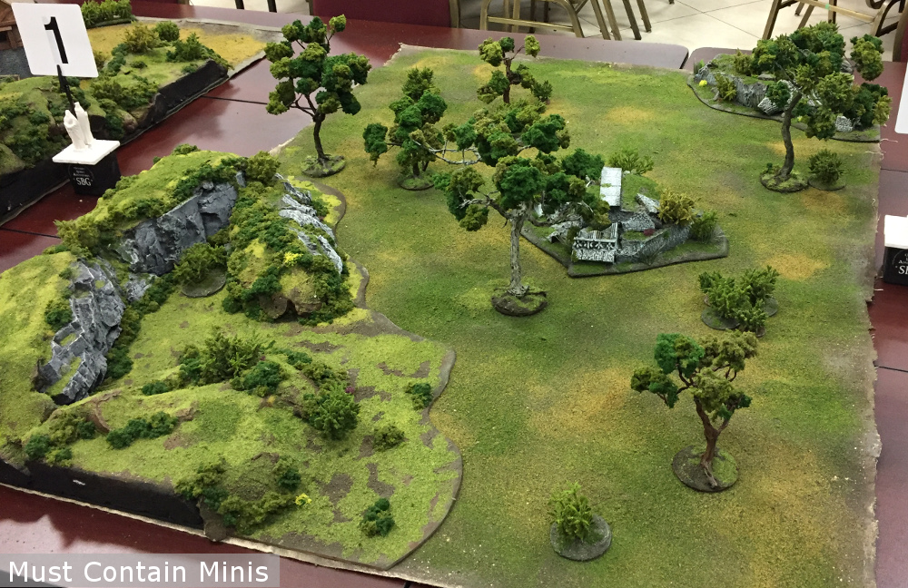 GW Hobbit Strategy Wargame Terrain - Ontario Hobbit Adventures