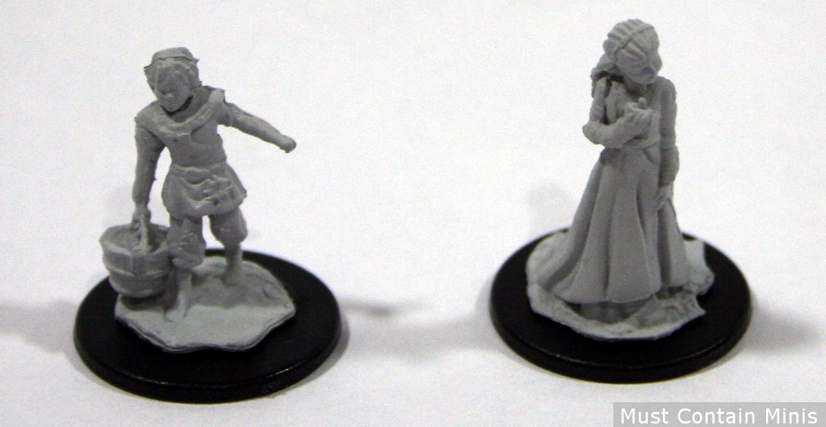 28mm Children Miniatures by WizKids