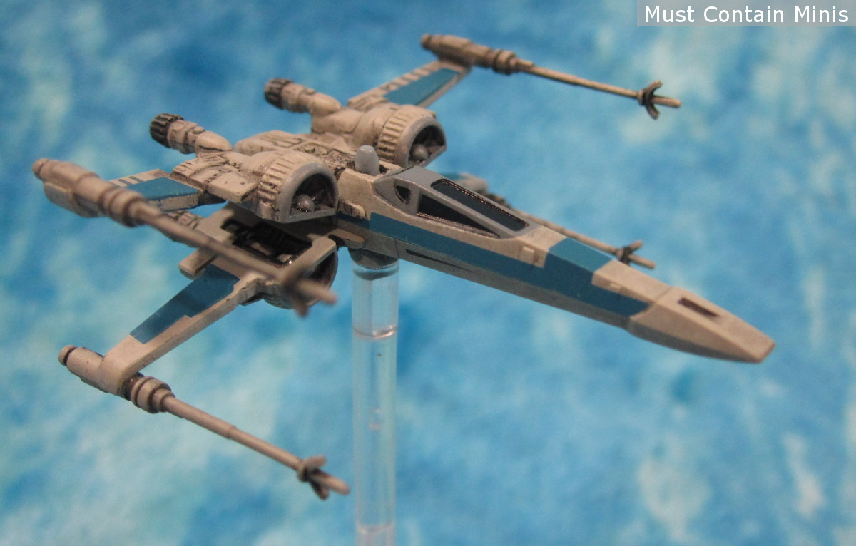 Star Wars X-Wing T-70 Miniature Showcase - Model by Fantasy Flight Games