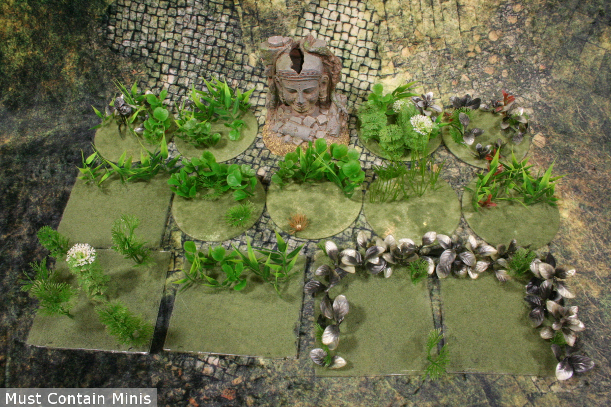 Terrain for Ghost Archipelago or Blood and Plunder