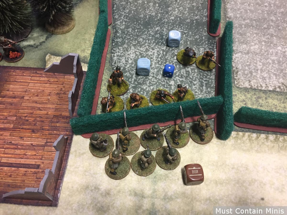 Commandos assault German Defenders - WW2 Tabletop Gaming