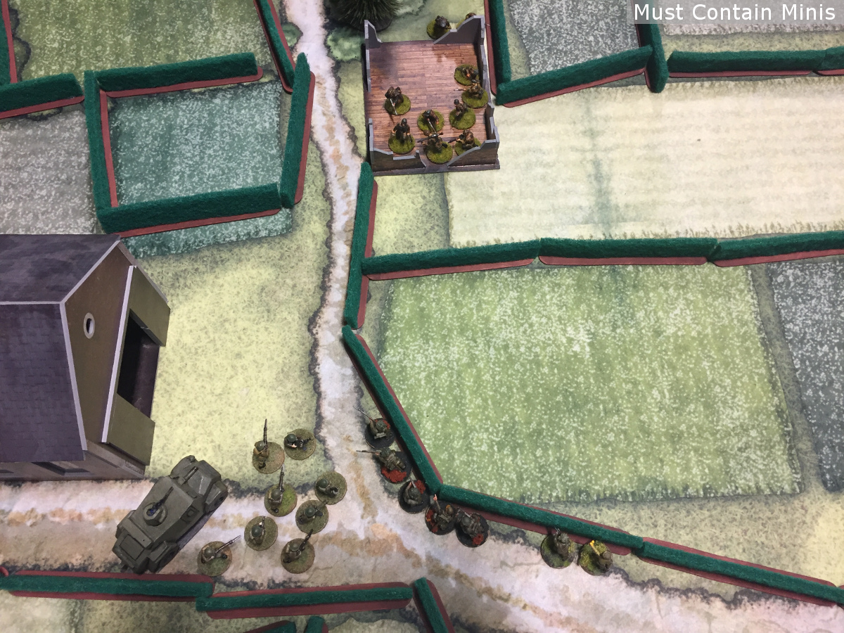 British charging in Bolt Action Battle Report - AAR