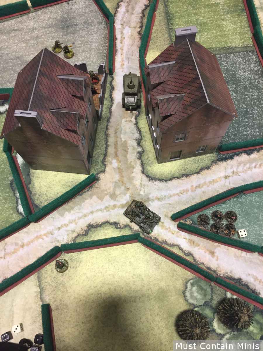 Bolt Action Battle Report Universal Carrier