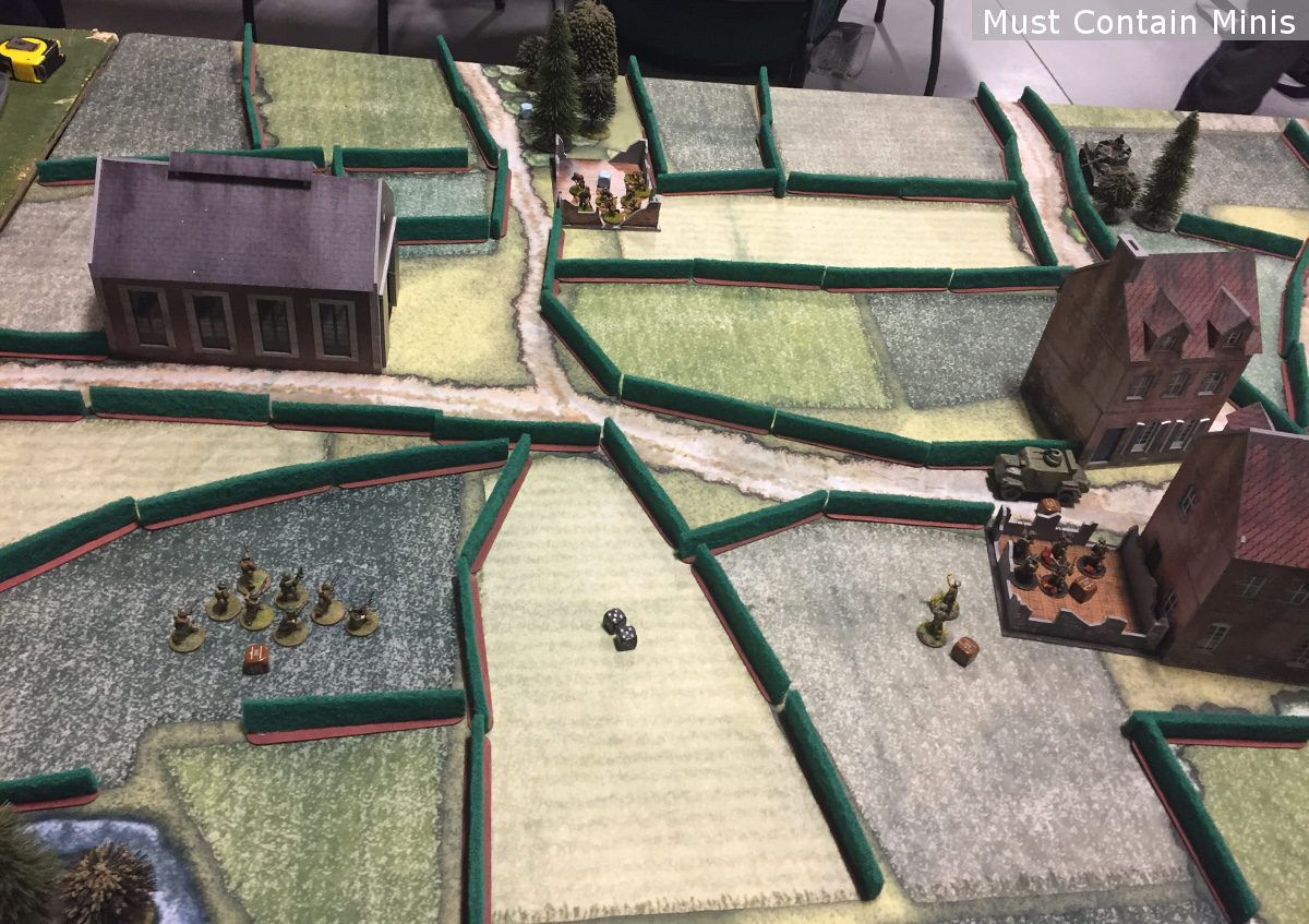 600 point battle report for Bolt Action