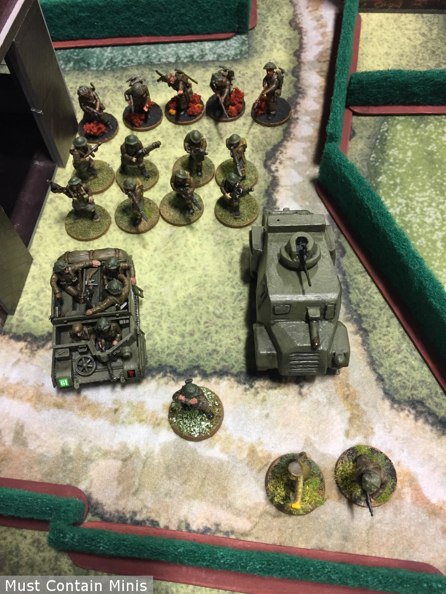 600 Point British Bolt Action Army