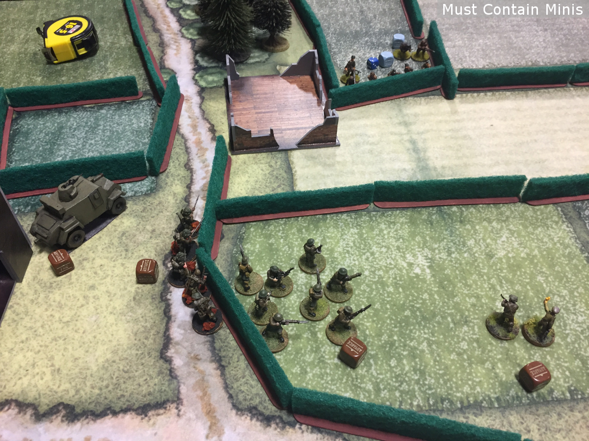 Bolt Action 600 point battle report