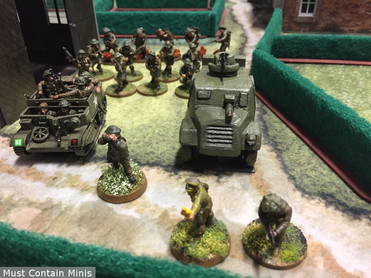 600 point British Army for a Bolt Action Battle Report