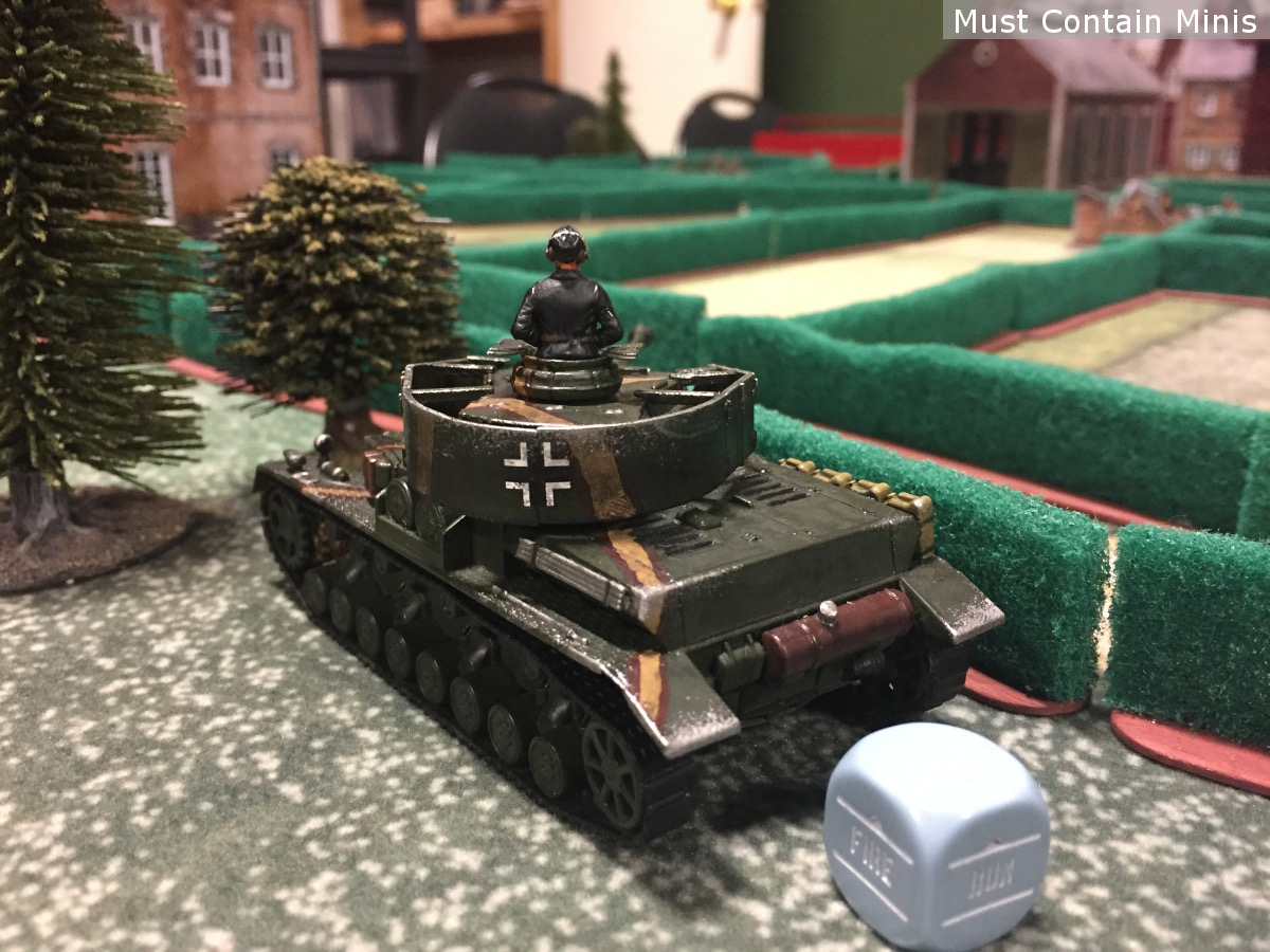 Bolt Action Panzer IV by Warlord Games