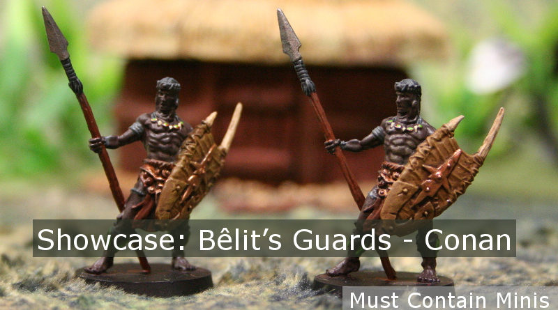 Bêlit's Guards Miniature Showcase for Conan Board Game