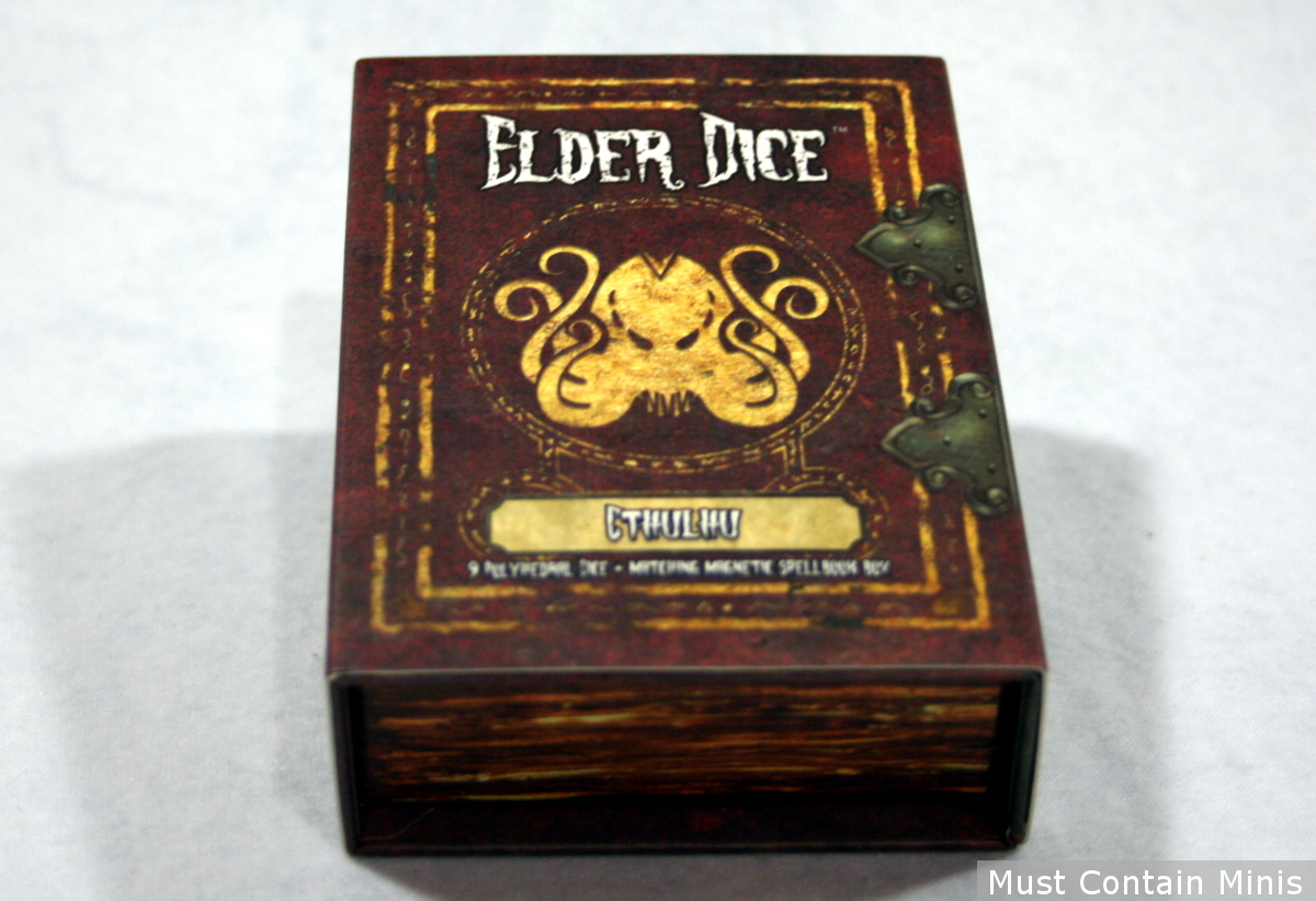 Cthulhu Elder Dice Box