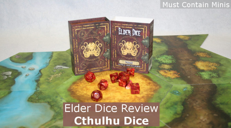 Elder Dice: Cthulhu Dice Review - Must Contain Minis [MCM]