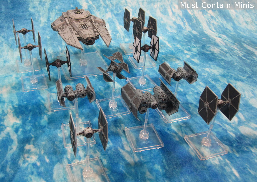 Imperial X-Wing Fleet by Fantasy Flight Games