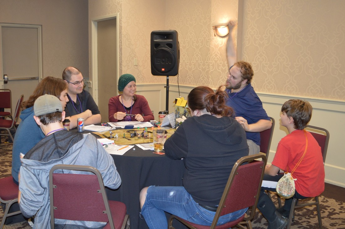 Pathfinder RPG at a Kitchener Ontario Gaming Convention
