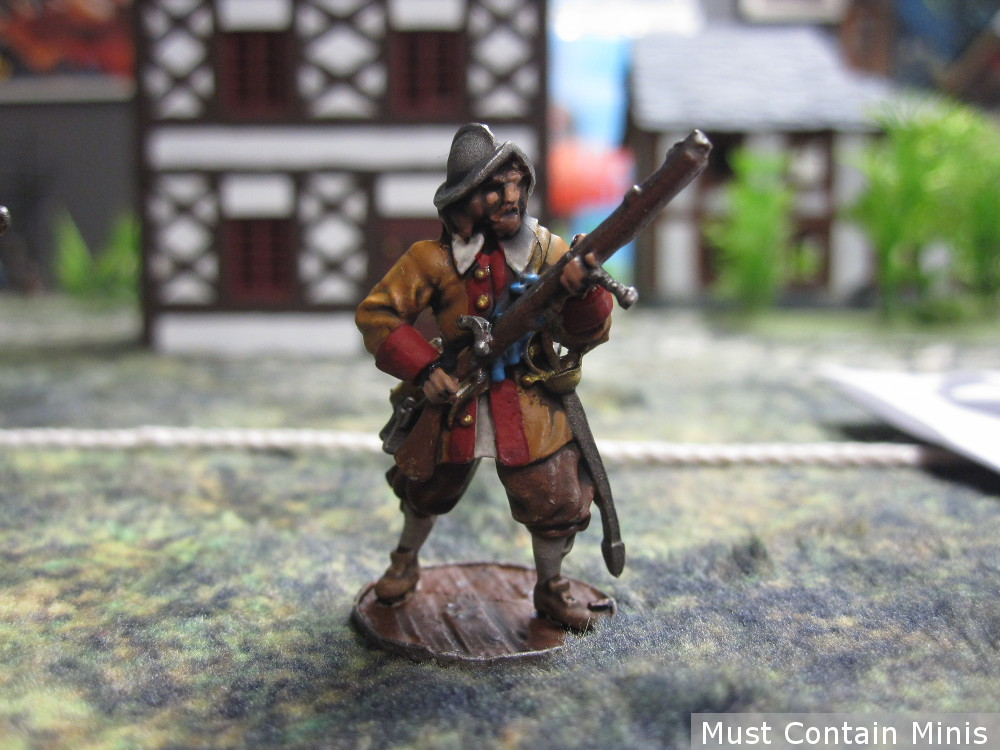 Blood & Plunder Spanish Musketeer in Frostgrave