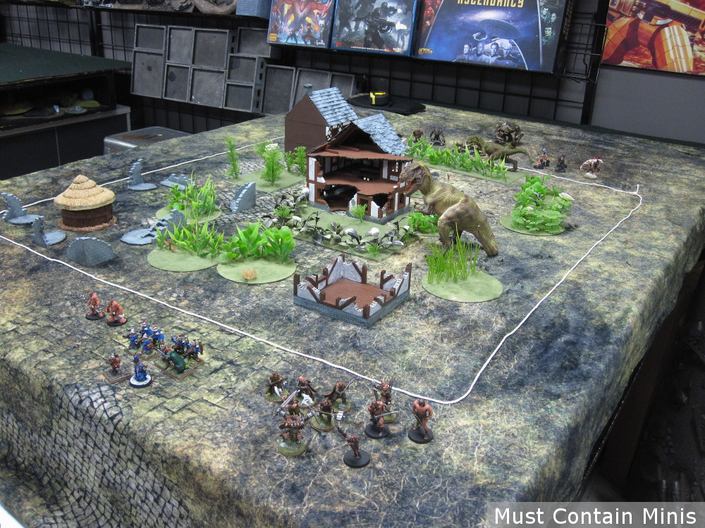 Frostgrave Ghost Archipelago Table Set Up