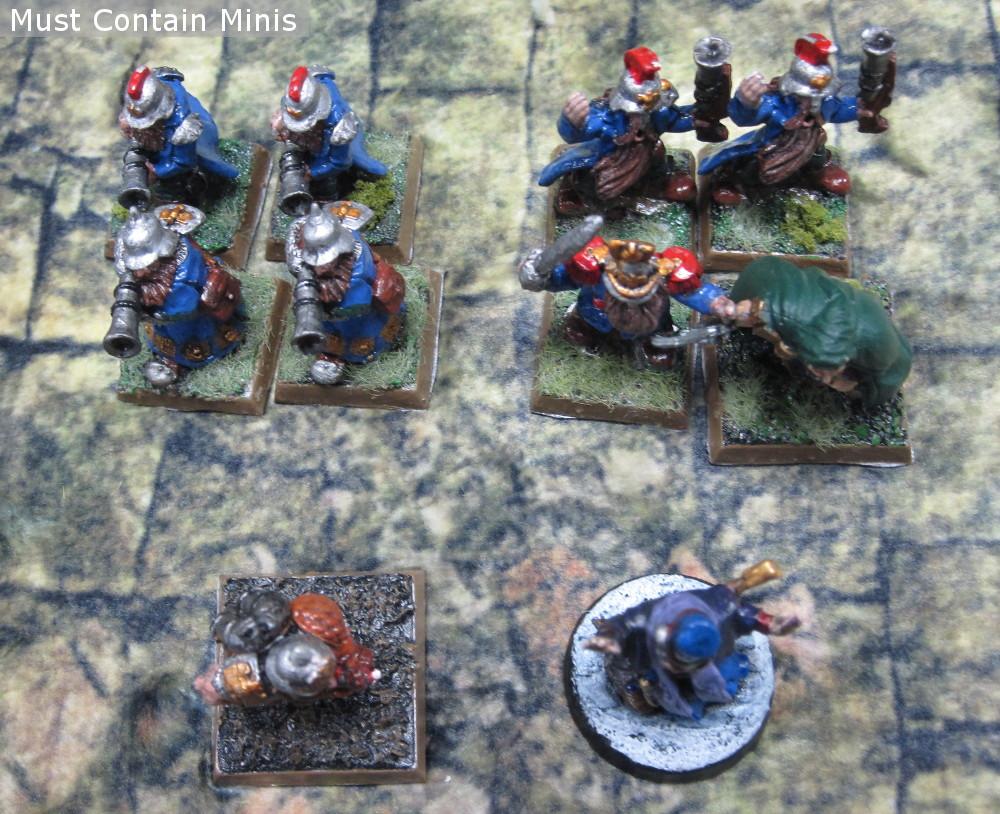 Dwarfs in Frostgrave Ghost Archipelago