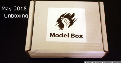 Unboxing a Model Box and Review