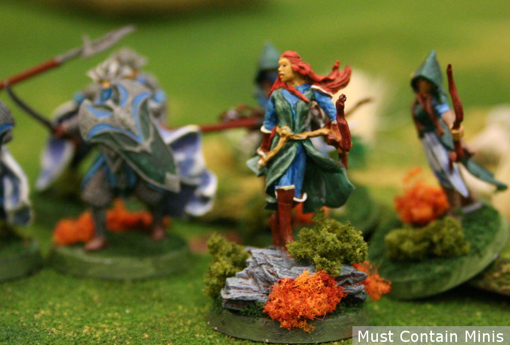 Lord of the Rings / Hobbit Miniatures female captain