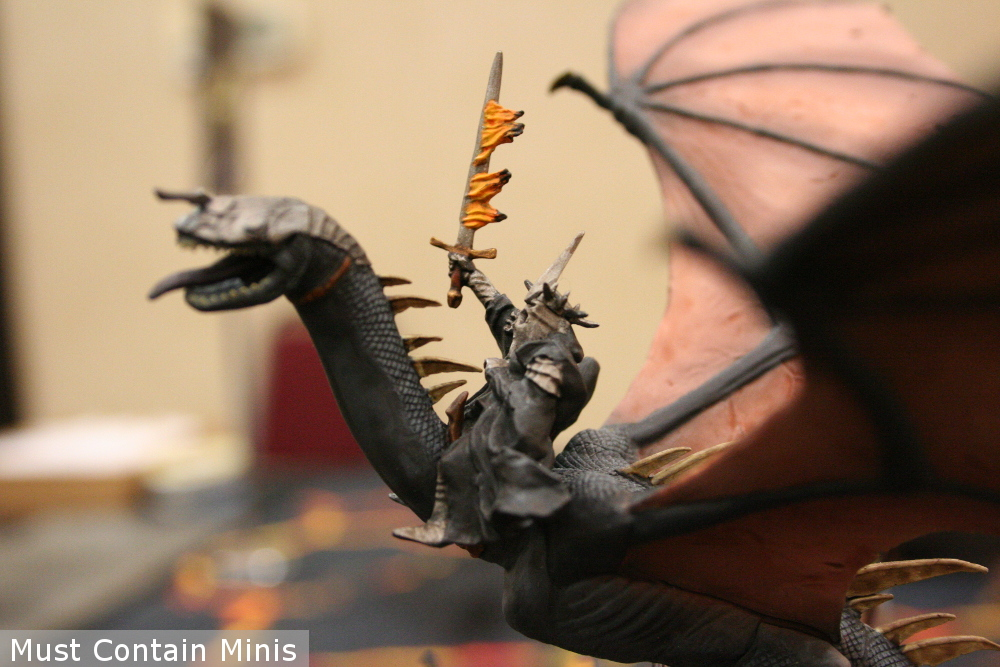 Winged Nazgûl with a Death Warrior - Games Workshop